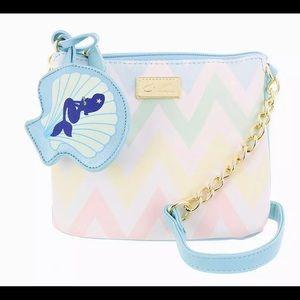 Luv Betsey pastel mermaid Crossbody bag